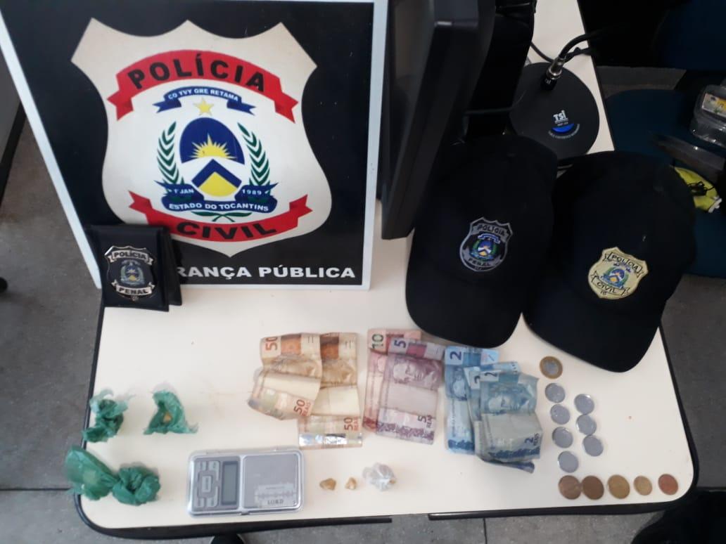 Polícia Civil desarticula ponto de venda de drogas e prende dois suspeitos por tráfico em Miracema