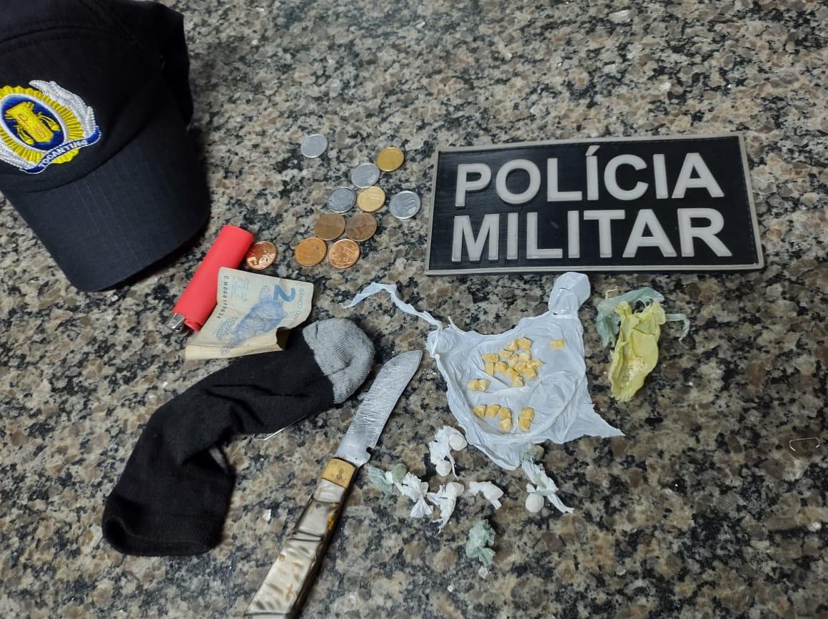 PM prende mulher por tráfico de drogas em Araguaína