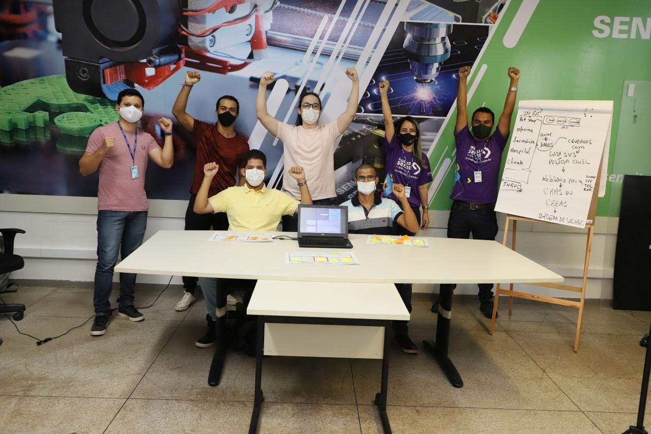 Equipe do SENAI Tocantins é vice-campeã do Grand Prix nacional de inovação