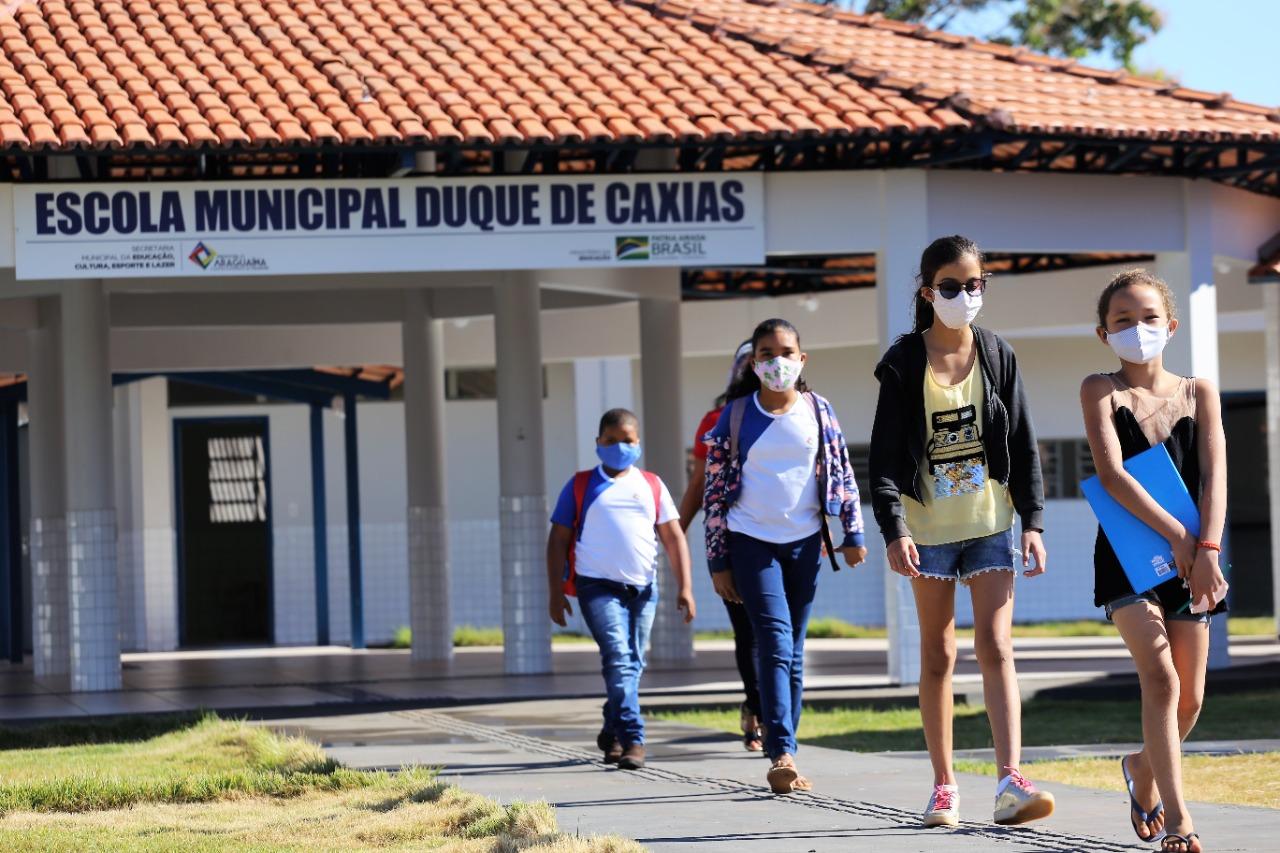 Renovação de matrícula na Rede Municipal de Ensino em Araguaína começa na próxima semana