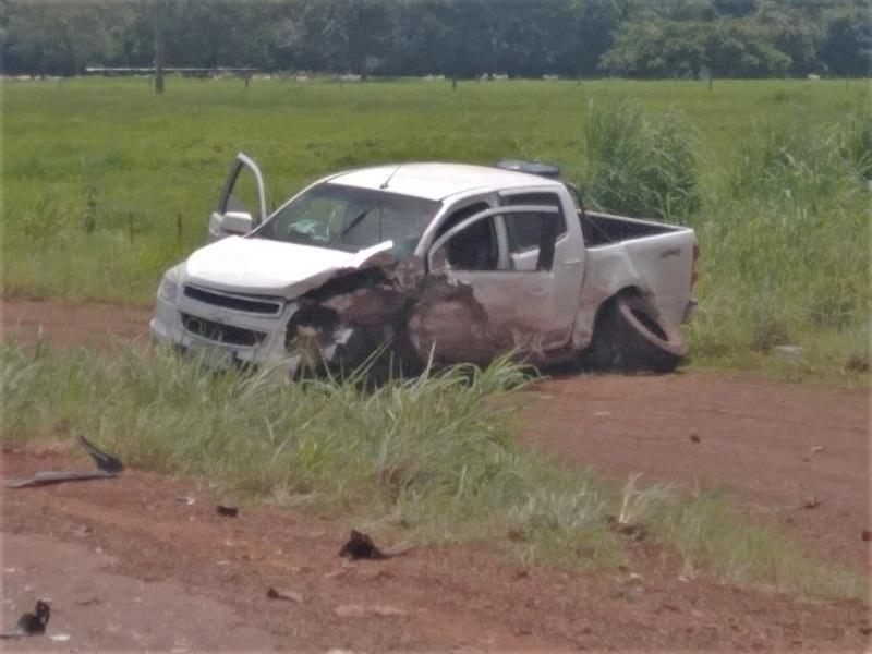 Colisão entre veículos deixa motorista morto, na TO-335 em Colinas