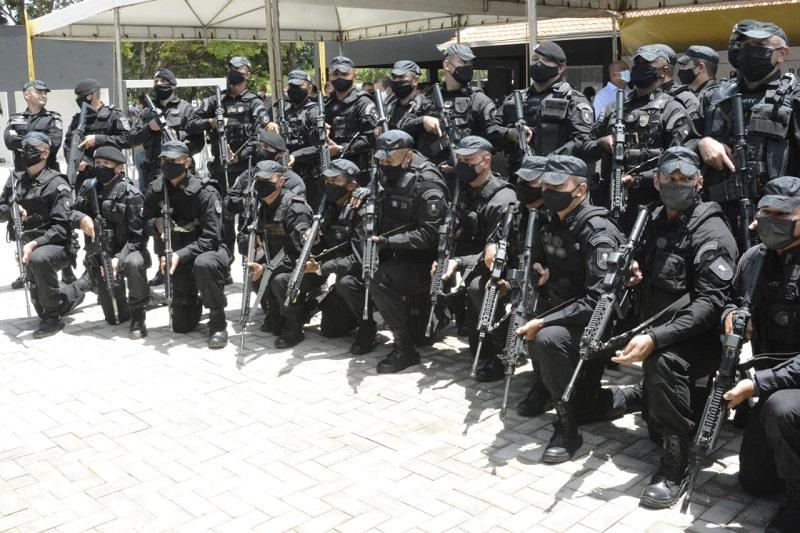 Inauguração do BOPE da Polícia Militar em Palmas é prestigiada pela Segurança Pública e Delegacia-Geral da Polícia Civil
