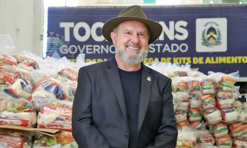 Reforma administrativa, agenda com prefeitos e ação em prol de famílias afetadas pela pandemia marcam a semana do governador Carlesse