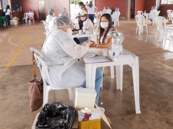 Covid-19: Cerca de 500 moradores de Pium são submetidos a testagem rápida