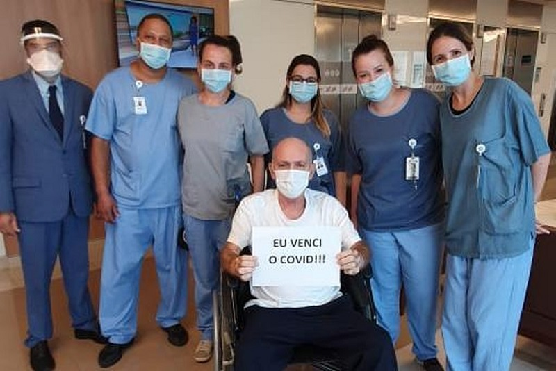 Presidente do Tribunal de Justiça vence a Covid-19 e recebe alta de hospital em São Paulo