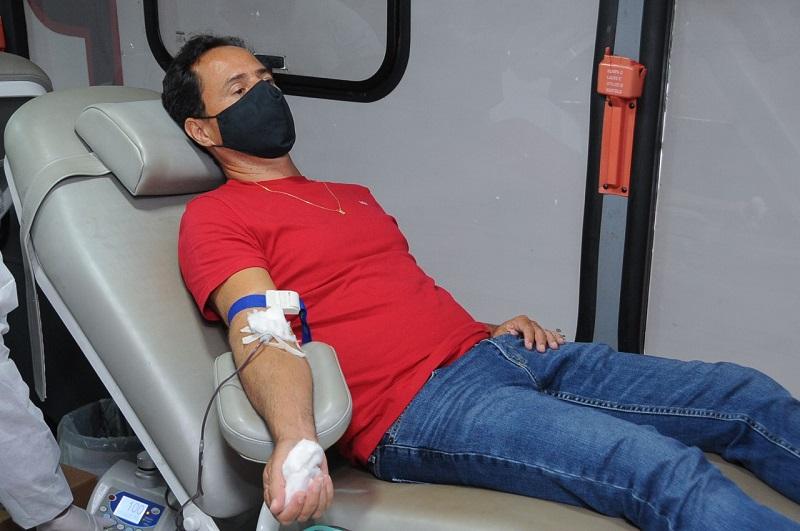 """""""Parceiros pela Vida"""" ganha reforço em 2ª edição da campanha de doação de sangue em Palmas-TO"""