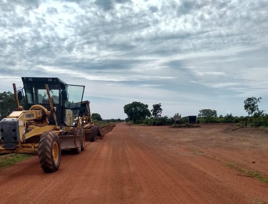 Governo do Tocantins realiza recuperação da TO-481, entre Dueré e Capão do Coco