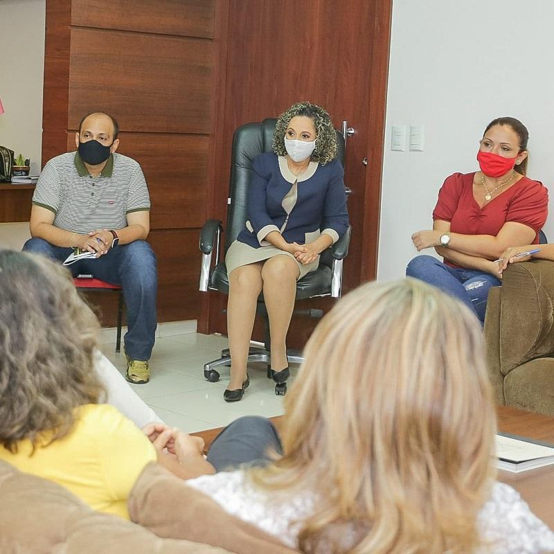 Demandas da rede particular de ensino são debatidas durante reunião na prefeitura de Gurupi