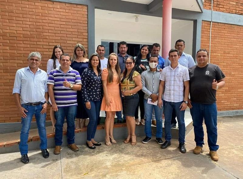 Prefeito de Abreulândia se reúne com equipe e apresenta secretariado municipal