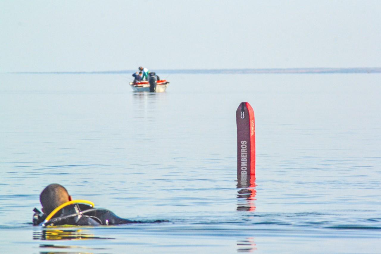 CIBS é acionada e resgata corpo de jovem afogado na Praia dos Buritis
