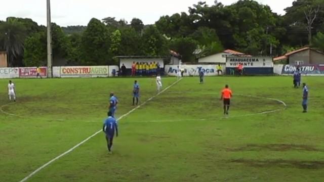 Araguacema goleia o Gurupi na estreia do Tocantinense 2021