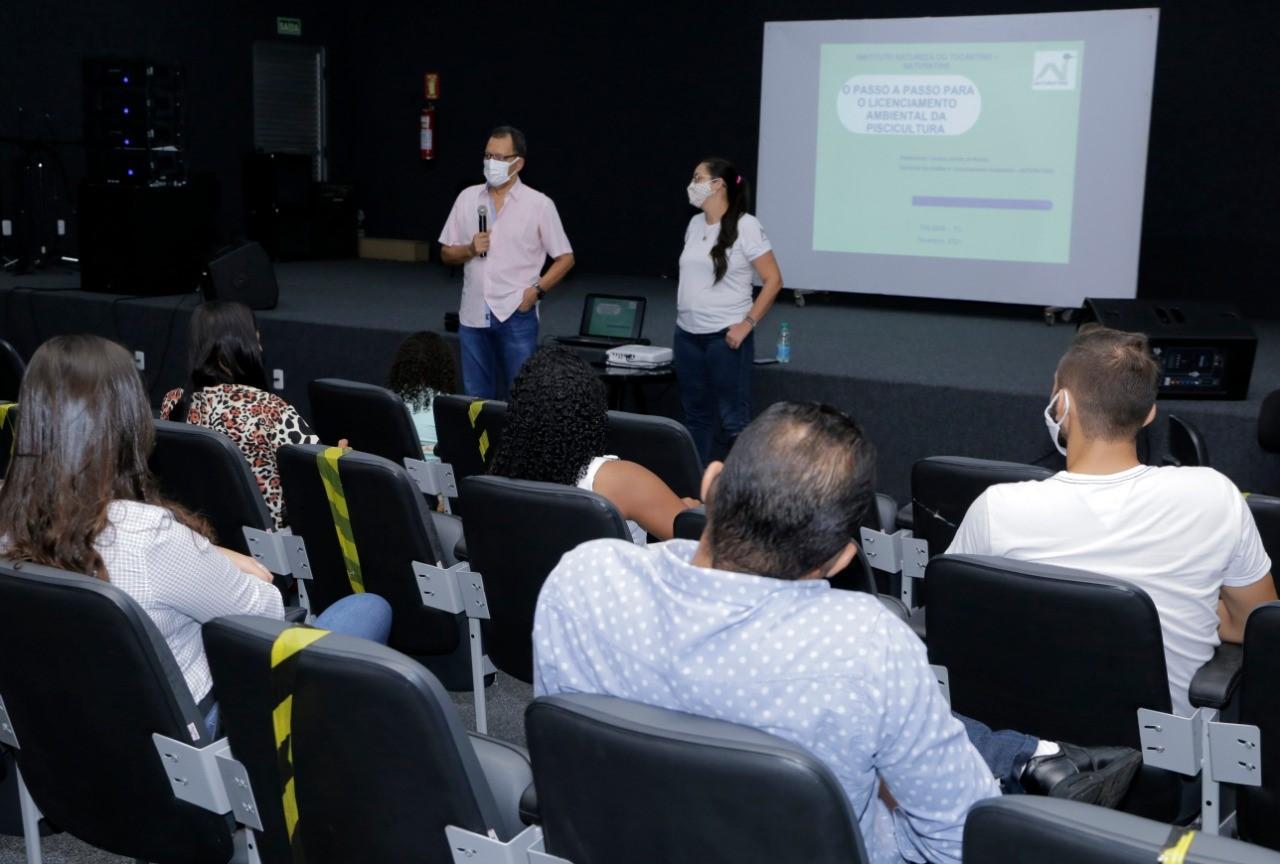 Viabilidade da produção de Tilápia é discutida em capacitação sobre licenciamento ambiental da piscicultura em Gurupi