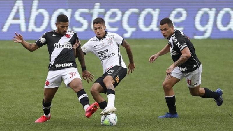 Vasco empata com Corinthians e fica perto do rebaixamento