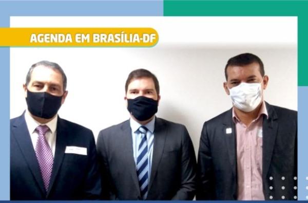 Em Brasília, Isaias Piagem comparece ao FNDE para cobrar conclusão de creche em  Marianópolis