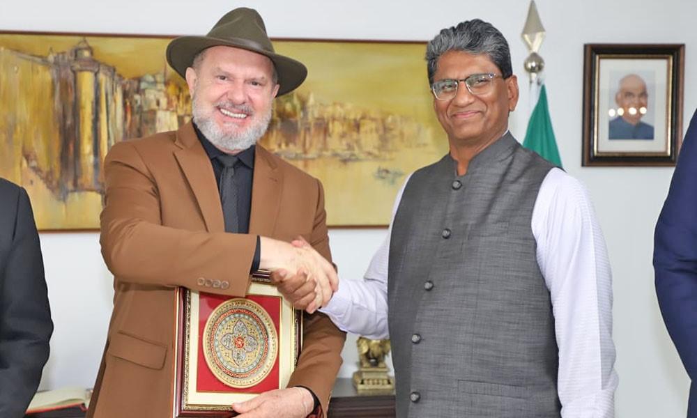 Governador do Tocantins dialoga com embaixador da Índia sobre atração de investimentos