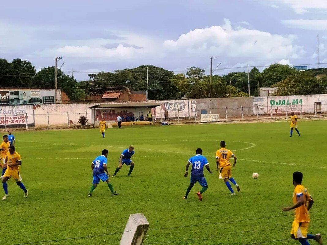 Interporto goleia Araguacema por 4 a 0 e mantém 100% de aproveitamento
