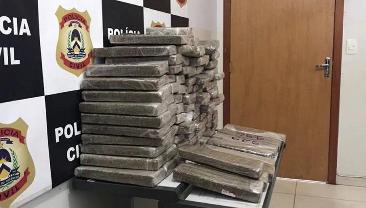Polícia Civil e Gaeco apreendem de mais de 100 kg de maconha em Gurupi