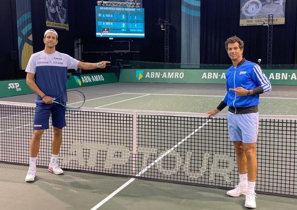 Melo e Rojer realizam o primeiro treino em Roterdã, na Holanda