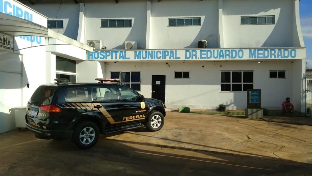 Polícia Federal faz operação contra desvio de dinheiro do fundo de saúde de Araguaína