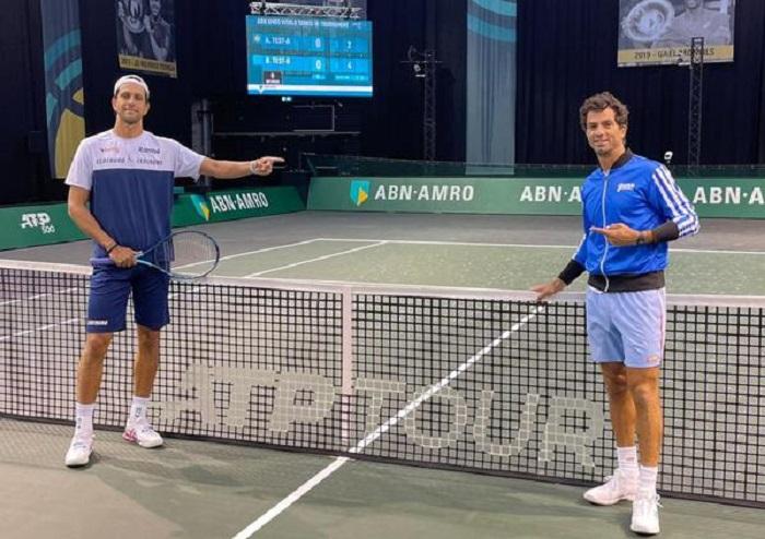 Dupla Melo e Rojer estreia nesta terça-feira (2) no ATP 500 de Roterdã enfrentando ex-parceiro