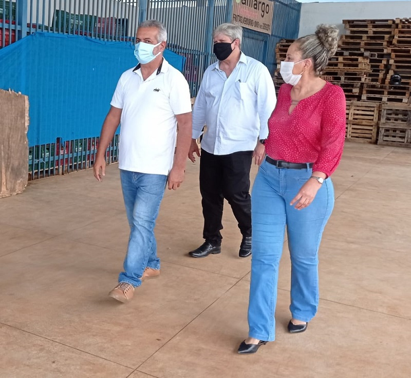 Prefeita de Gurupi recebe visita de ex-presidente da Ceasa de Brasília