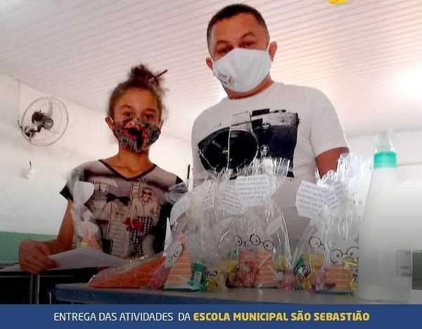 Educação de Marianópolis promove 5ª etapa de entrega de atividades escolares