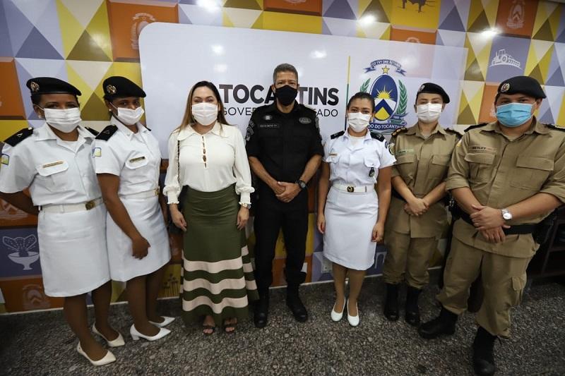 Deputada Luana Ribeiro prestigia promoção dos policiais e bombeiros militares do Tocantins