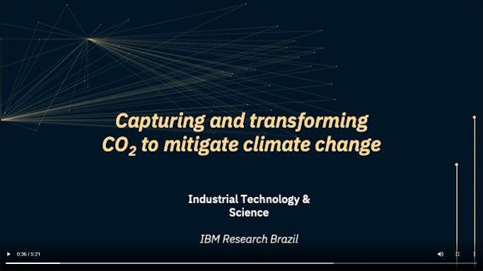 IBM acelera a descoberta de materiais para melhorar a captura, separação e armazenamento de carbono