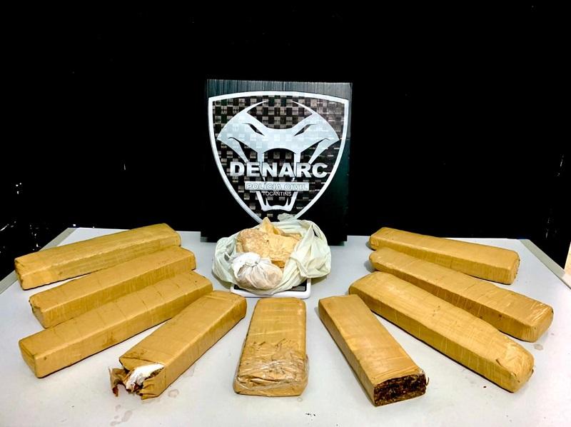 Polícia Civil apreende drogas e prende suspeitos pelo crime de tráfico na região sul de Palmas