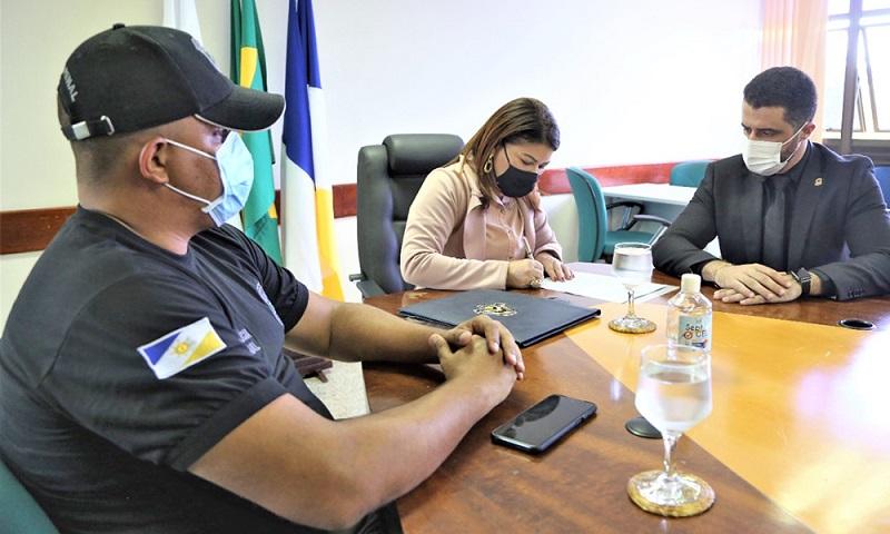 Secretaria de Educação disponibiliza prédio do Caic para criação de Academia de Polícia Penal