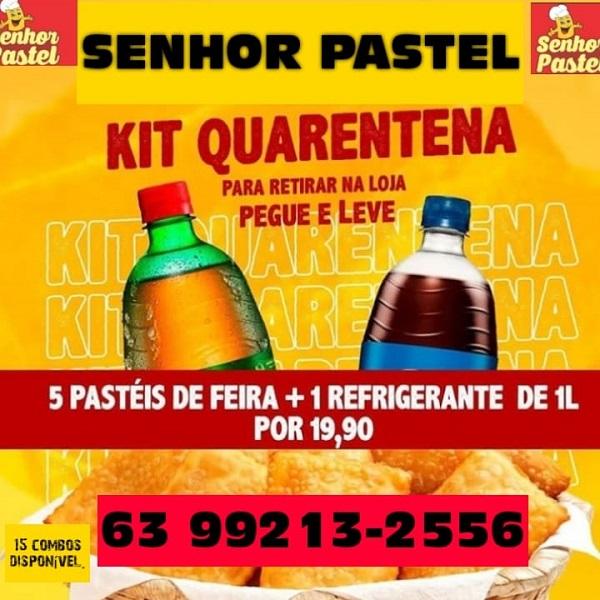 Senhor Pastel anuncia promoção em Paraíso: 5 pasteis + Refri de 1L por R$ 19,90