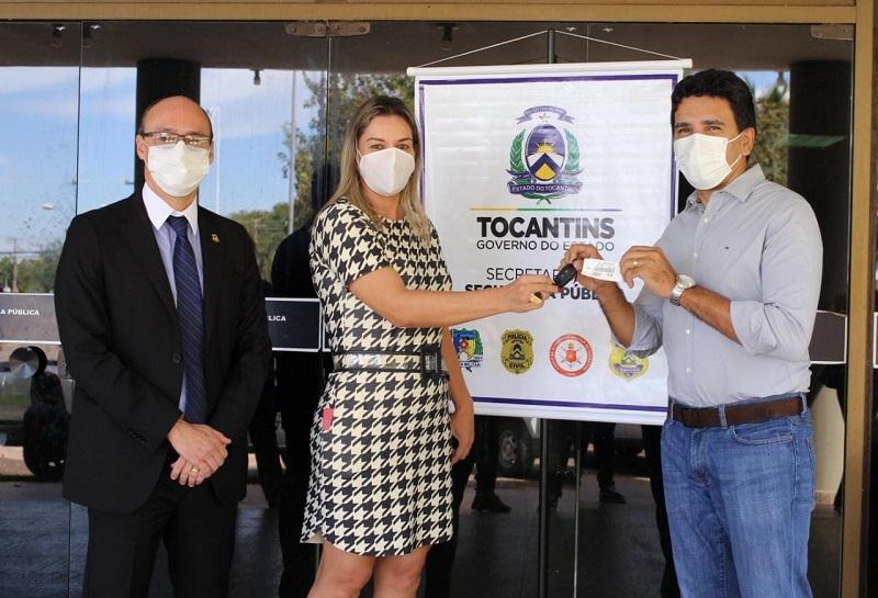 Emendas do Prof. Júnior Geo garantem novas viaturas para a Polícia Científica do Tocantins