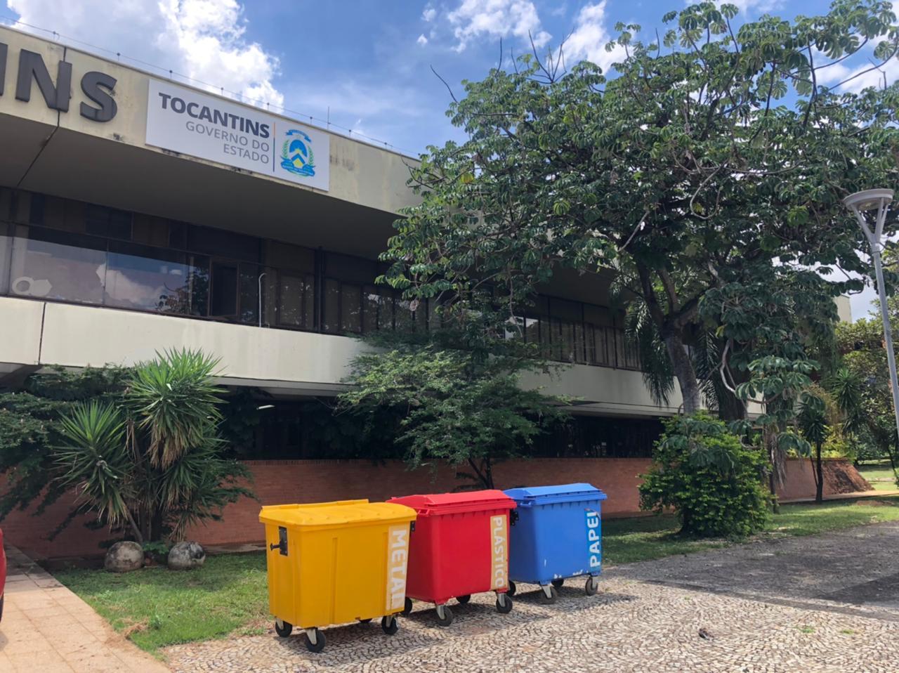 Tocantins Parcerias reforça compromisso ambiental com coleta seletiva de resíduos recicláveis