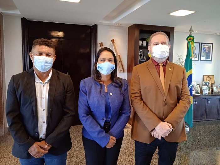 PSL de Vanda Monteiro articula filiação de Carlesse e convite tem aval da executiva nacional do partido