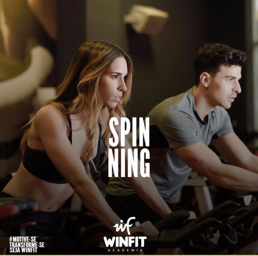 Academia WinFit de Paraíso anuncia retorno das aulas de spinning