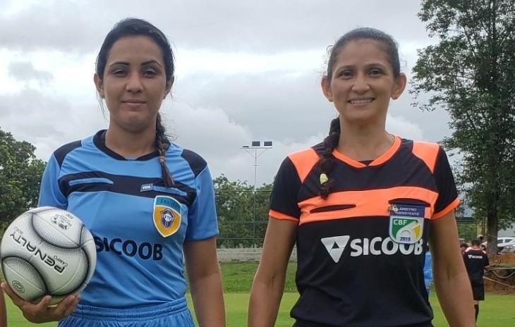 Pela primeira vez o Tocantins terá uma dupla feminina em ação numa partida a nível nacional