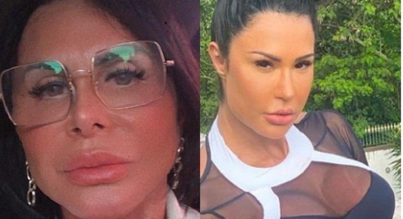 Após nova cirurgia plástica, Gretchen é comparada a Gracyanne Barbosa
