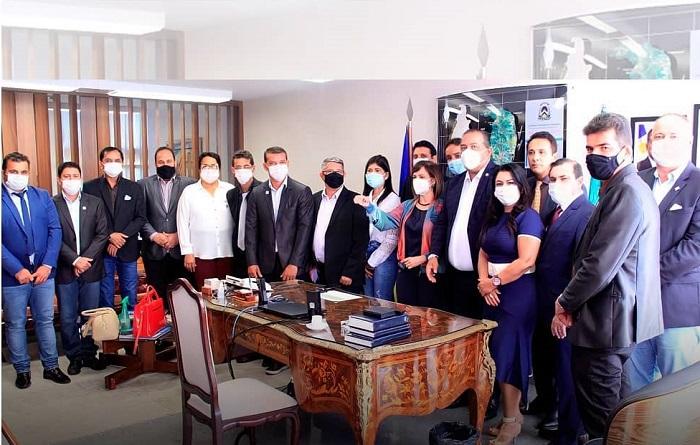 Prefeito Isaias Piagem cumpre agenda na capital federal em busca de apoio para o Consórcio do Vale do Araguaia