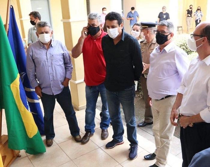 Nilton Franco prestigia implantação de Núcleo de Atendimento da Polícia Civil e de Identificação em Cristalândia