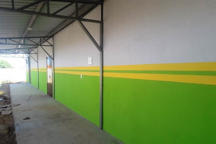 Obras da Casa de Artes Marciais em Paraíso está em fase final para conclusão