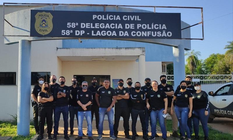 Polícia Civil combate atuação de grupos criminosos em Lagoa da Confusão