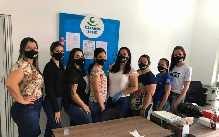 Prefeitura de Goianorte confecciona máscaras para servidores em combate à pandemia