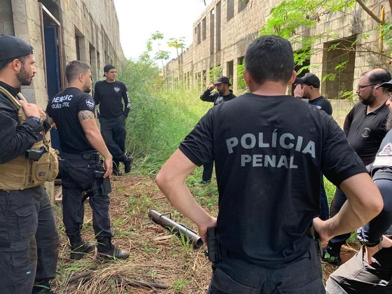 Polícia Civil do Tocantins ministra treinamento operacional em campo à Polícia Penal