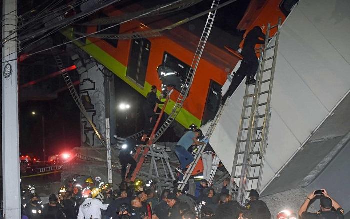 Desabamento de metrô no México deixa mortos e feridos; veja o vídeo