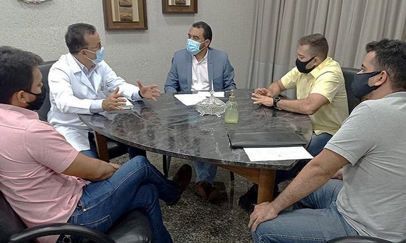Wanderlei Barbosa articula retorno de internato para estudantes da UFT em hospitais públicos do Tocantins