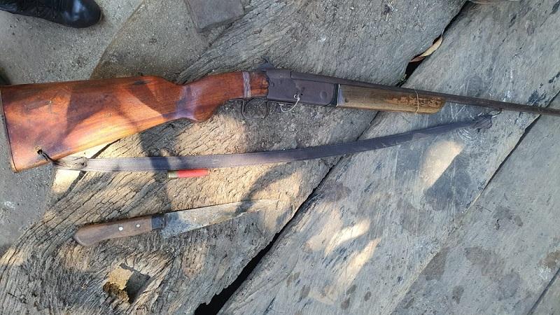 Sobrinho de 11 anos é apreendido pela 4ª CIPM após atirar contra o tio em Lagoa da Confusão