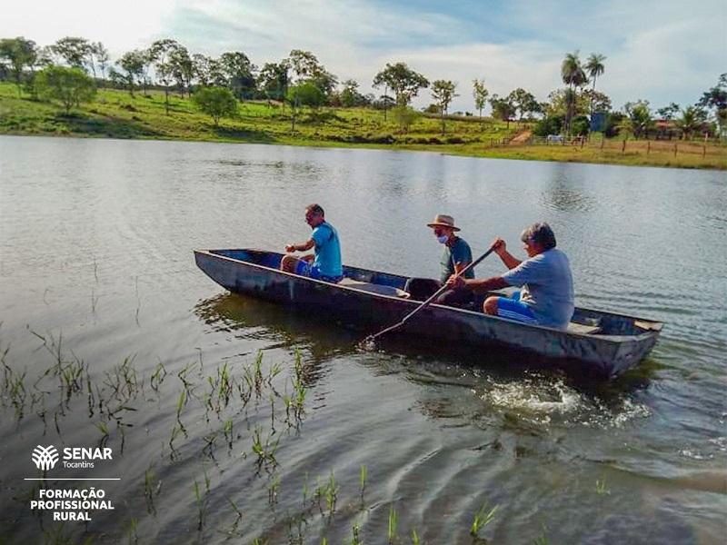 Curso do SENAR mostra caminhos para quem pretende investir em piscicultura no Tocantins