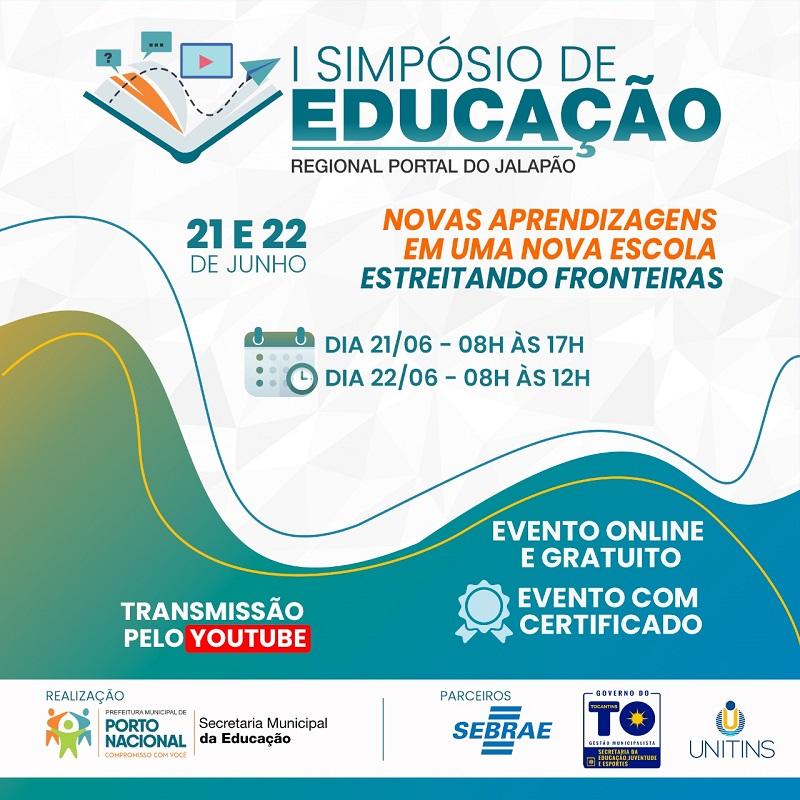 Mais de 800 profissionais participam do I Simpósio de Educação