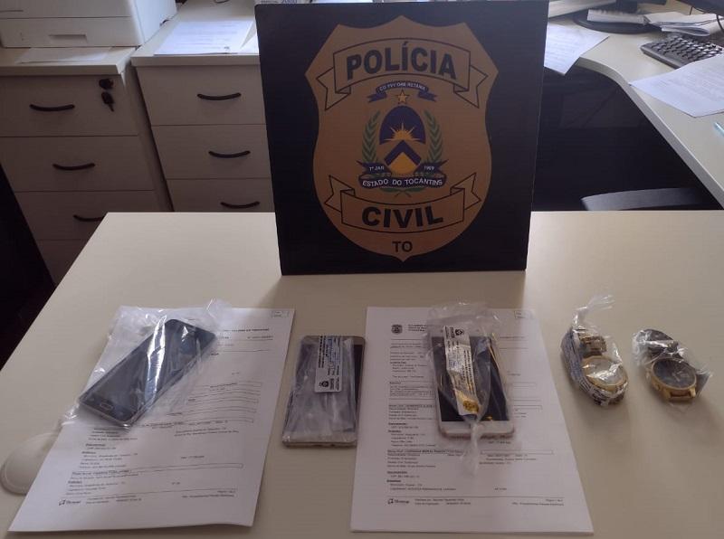 Polícia Civil deflagra operação Viagem Segura e prende dois suspeitos de cometer crimes diversos em Colinas