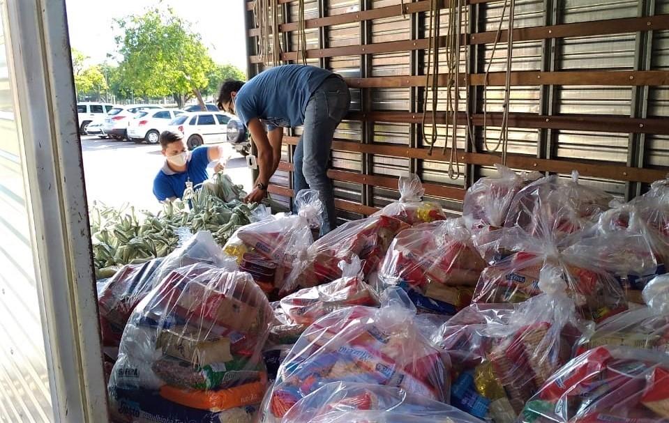 Parceria Solidária: famílias do interior do Tocantins serão atendidas com cesta de alimentos